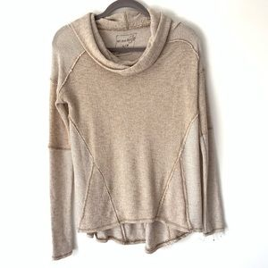Free People We The Free Cowl Neck Sweater Small